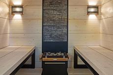 Wax feeling in the sauna